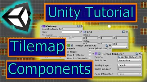 unity tutorial collision tilemap tilemap renderer grid and collision unity