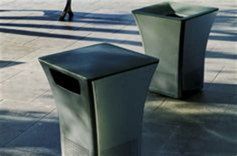 Landscape Forms Waste Receptacles 1000 Images About Litter Recycling Receptacles On