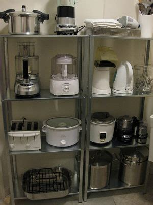 kitchen appliance storage how to maximize your counter space