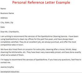 letters of reference october 2012