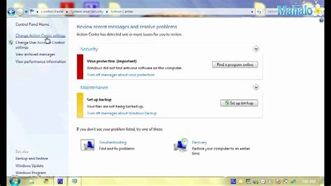 software cadenas de markov how to turn on and off security settings in windows 7