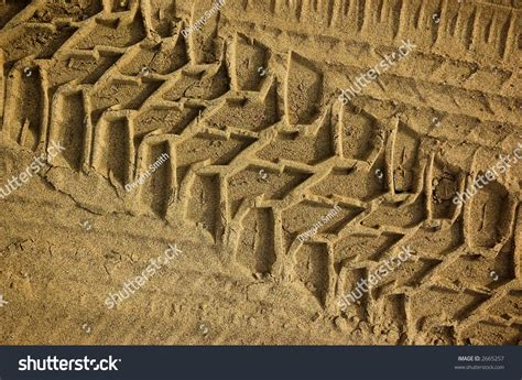tread pattern en français tread pattern truck tire soft sand stock photo 2665257