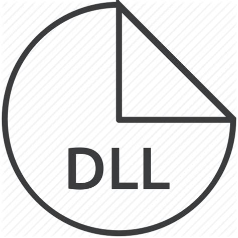 format file dll dll extension file format library microsoft icon