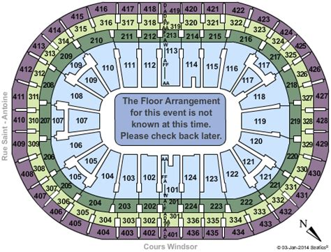 Centre Bell Floor Plan by Usher Montreal Tickets 2017 Usher Tickets Montreal Qc