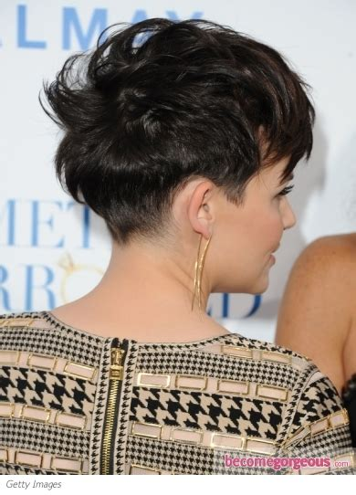 ginnifer goodwin short hair front and back views pictures ginnifer goodwin hairstyles ginnifer goodwin