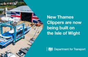 thames clipper accident department for transport gov uk