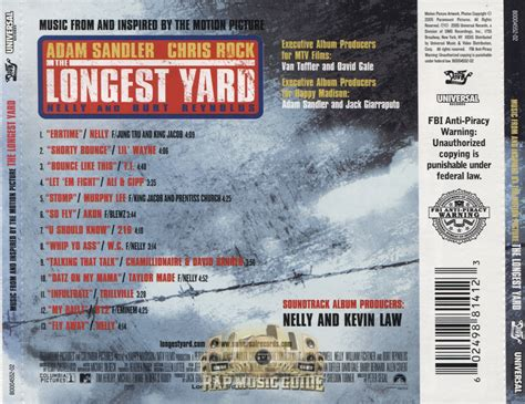 Backyard Soundtrack by The Yard Soundtrack Cd Rap Guide