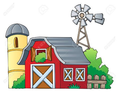 bauernhof scheune clipart farm clipart farmhouse pencil and in color farm clipart