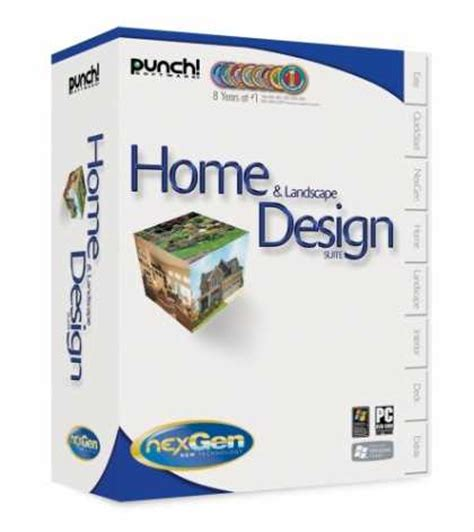 punch home landscape design suite with nexgen