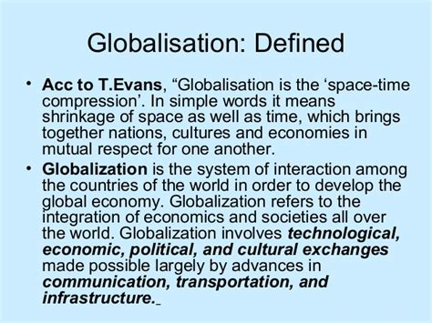 Forbidden Words In Essays by Globalisation And Education And Skills Of 21st Century