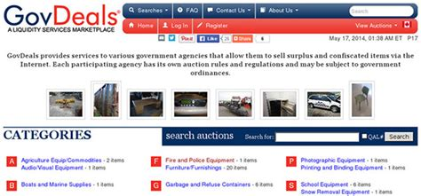 govdeals government surplus auctions not satisfied with ioffer here are 6 online auctions