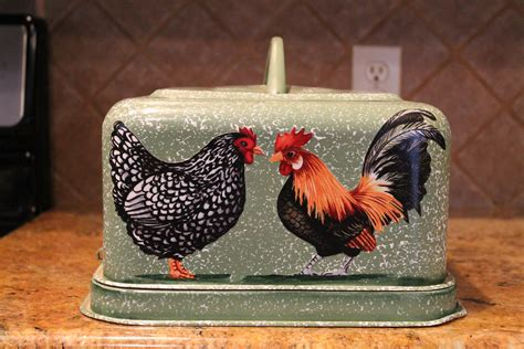 Rooster Decor Rooster Hen Cake Carrier Latching By Craftsbyjoyice On Etsy