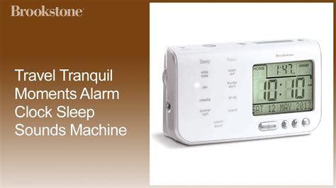 travel tranquil moments alarm clock sleep sounds machine replacing coin cell battery how to