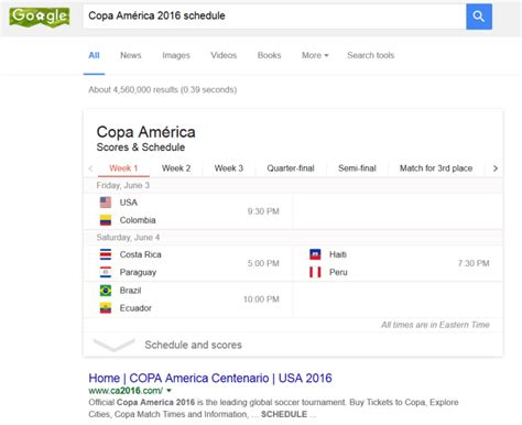 America Also Search For Copa Am 233 Rica 2016 Schedule Attached To Doodle Marking Tournament S 100th