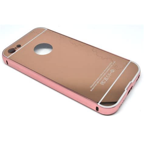 Aluminium Bumper With Mirror Back Cover For Iphone 5c Murah 1 aluminium bumper with mirror back cover for iphone 5c