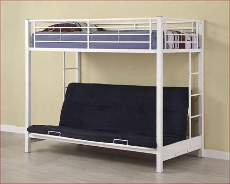 Metal Futon Bunk Bed Walker Edison Futon Metal Bunk Bed We Btofbl Wt
