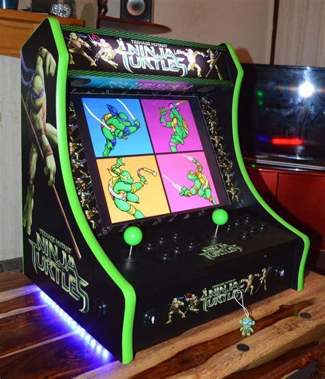 Bartop Machine Mini Arcade Machines On Quot Tmnt Bartop Arcade