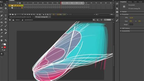 flash tutorial wave tutorials learn adobe flash animation for free animator