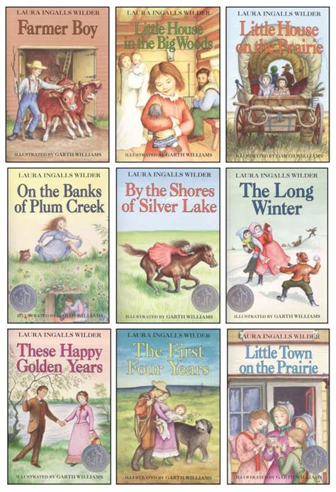 little house books little house on the prairie