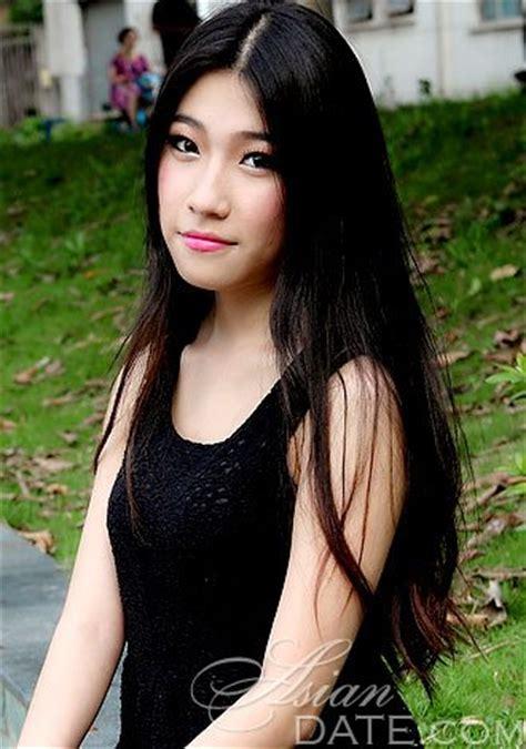 asian member yan from guangzhou 46 yo hair color black