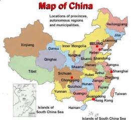Map China by China City Information Chinese Cities China Province