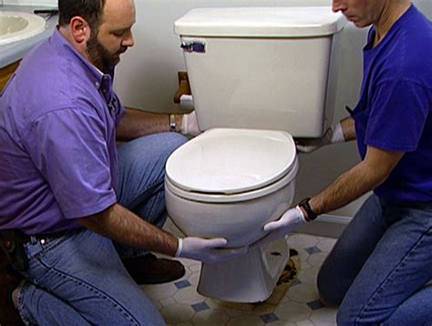 Remove Moisture From Closet by How To Install A New Toilet How Tos Diy