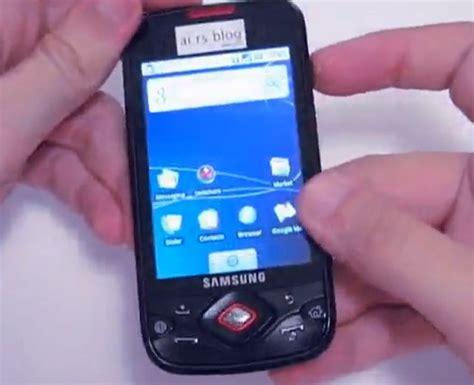 Batterai Samsung I5700 samsung i5700 spica gets demo slashgear