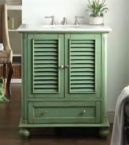 green bathroom vanity 30 cottage look light green bathroom sink vanity