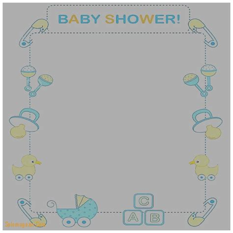 baby shower invitation template microsoft word baby shower invitation unique baby shower invitation