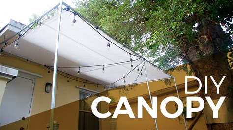 How to install a Canopy with Regular and Electrical