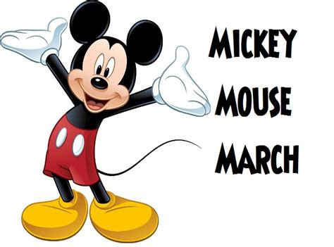 song lyrics mickey mouse mickey mouse march sing along