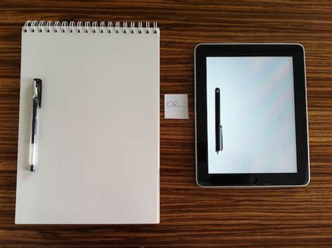 Paper Technology - paper notepads vs technology postcardsrus