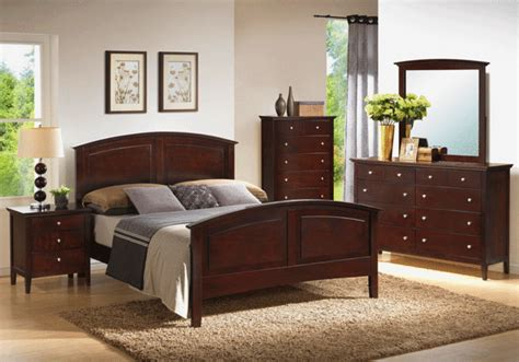 overstock bedroom furniture arcadia warm espresso bedroom set
