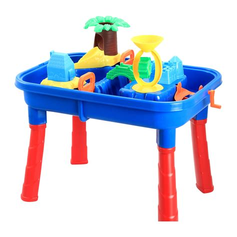 water table for 5 year sand and water play table kmart
