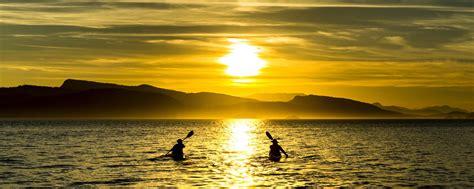 Sunset Bliss sunset bliss pender island kayak adventures