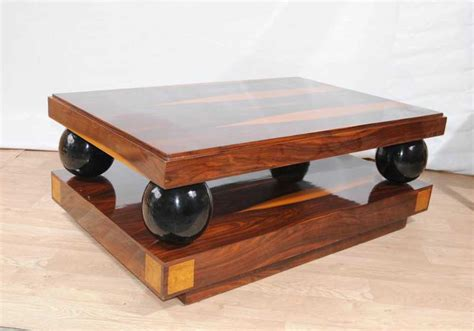 deco coffee table cocktail tables rosewood furniture