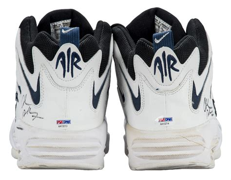 cb4 sneakers lot detail 1990 s charles barkley used signed