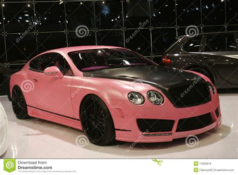 bentley car pink pink bentley car editorial stock photo image of power