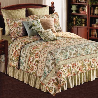 Oversized Quilts Louise Reversible King Quilt In Multi