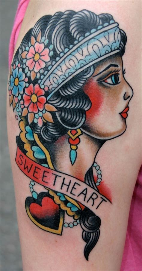 lot  flowers  american traditional tattoo