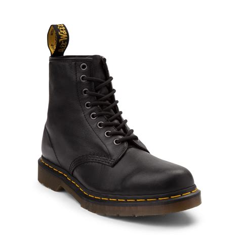 doc martens mens boots mens dr martens 1460 8 eye nappa boot black 573124