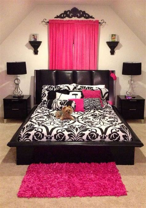 black white pink bedroom agreeable pink black white bedroom magnificent small home