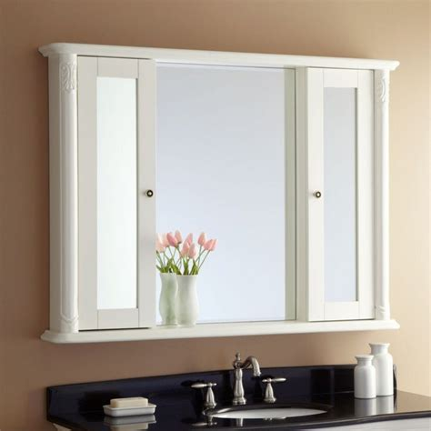 bathroom mirrors with storage ideas bathroom mirror frames ideas 3 major ways we bet you didn