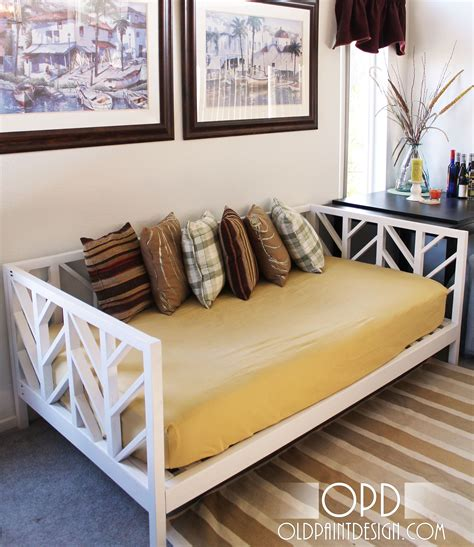 How To Make A Day Bed   ana white build a stacy daybed free and easy diy
