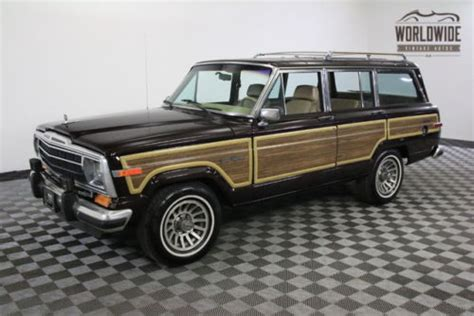 1989 jeep wagoneer for sale 1989 jeep wagoneer for sale