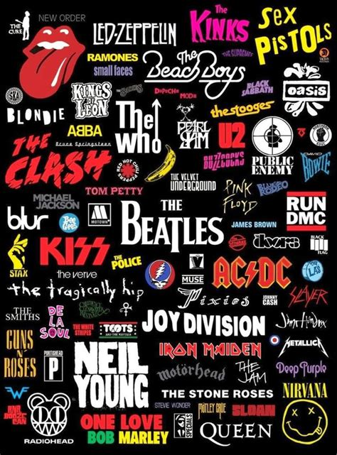 best of rock bands best 25 rock band logos ideas on rock bands