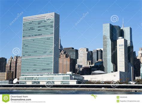 sede nazioni unite sede delle nazioni unite new york fotografia stock libera