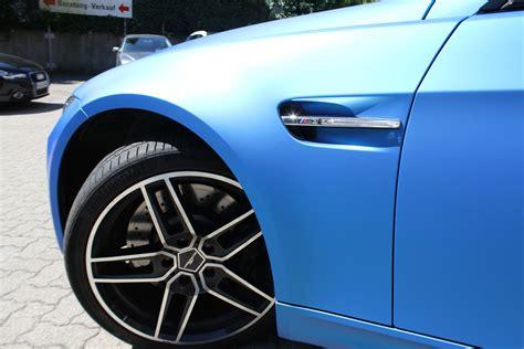 Auto Folie Hellblau Matt by Bmw M3 In Blau Matt Metallic Nato Oliv