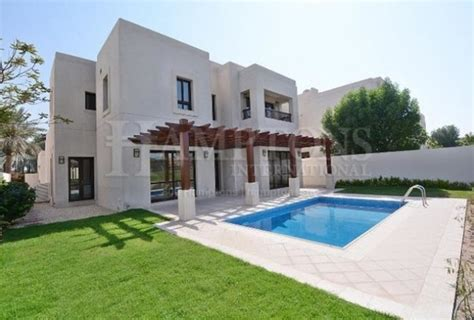 4 bedroom villa for rent in dubai 4 bedroom villa to rent in golf course view villas dubai