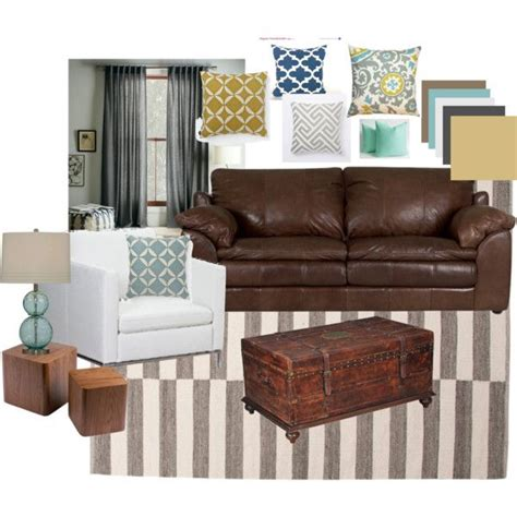 colour schemes for brown leather sofas best 25 brown leather couches ideas on